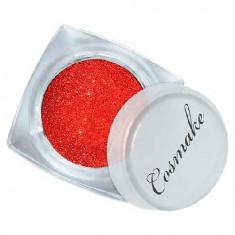 Cosmake, Блестки «Звездная пыль» №101, красные
