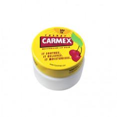 Carmex, Бальзам для губ, с ароматом вишни, в баночке