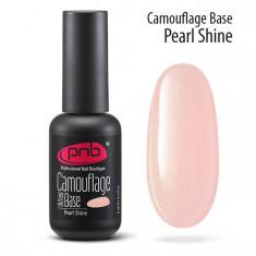 PNB База каучуковая камуфлирующая перламутровая / Camouflage Base PNB UV/LED, Pearl shine 8 мл