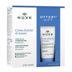 NUXE Набор для сухой кожи лица (крем 30 мл + 15 мл) Creme Fraiche De Beaute