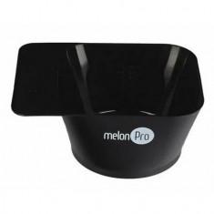 Melon Pro, Чаша для красителя, квадратная, черная, 300 мл