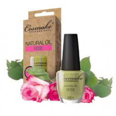Cosmake, Масло для ногтей и кутикулы «Роза», 16 мл