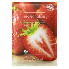 Маска для лица тонизирующая с клубникой Secret Nature Strawberry mask sheet 25г