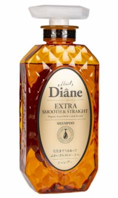 Шампунь кератиновый гладкость Moist Diane Extra smooth & straight 450мл