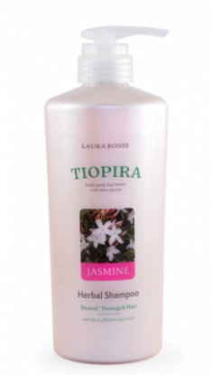 Шампунь растительный для ослабленных волос «жасмин» Laura Rosse Herbal shampoo jasmine 510мл