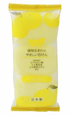 Мыло туалетное с ароматом юдзу MAX Yuzu-scented toilet soap 80г*3шт