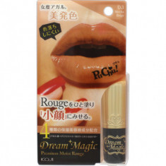 Губная помада увлажняющая Koji Dream magic premium moist rouge тон №03 мокко бежевый 5г