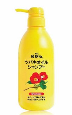 Шампунь для поврежденных волос Kurobara Camellia oil hair shampoo 500мл