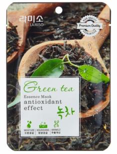 Маска с экстрактом зеленого чая La Miso Essence Mask premium quality Green tea 23г
