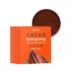 гидрогелевые патчи с экстрактом какао для кожи вокруг глаз petitfee cacao energizing hydrogel eye mask