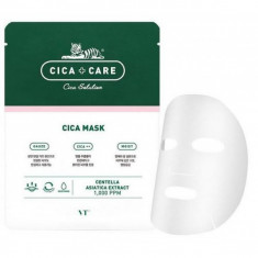 тканевая маска для лица с центеллой vt cosmetics cica mask pack