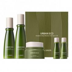 набор интенсивно увлажняющих средств с экстрактом новозеландского льна the saem urban eco harakeke deep moisture skin care 3 set