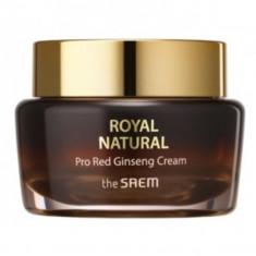 крем для лица the saem royal natural pro red ginseng cream