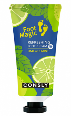 Крем для ног освежающий Consly Refreshing foot cream 100мл
