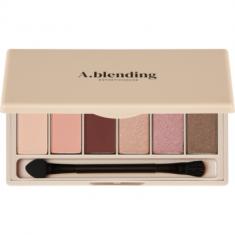 Тени для век ESTHETIC HOUSE A.blending Pro Eyeshadow Palette Nude Glow 2г*6шт
