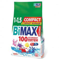 Бимакс/Bimax Порошок стиральный Автомат 100 пятен COMPACT 6000г м/у