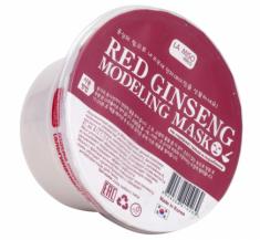 Маска альгинатная с красным женьшенем La Miso Red ginseng modeling mask 28г